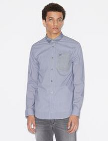Armani REGULAR-FIT SHIRT WITH INSERTS