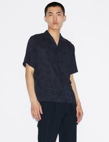 Armani SHORT-SLEEVED PAISLEY SHIRT