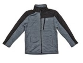 REEBOK Boys Fleece Space-Dyed Active Jacket (8-20)