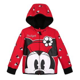 Disney Minnie Mouse Zip-Up Hoodie for Kids – Perso