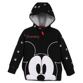 Disney Mickey Mouse Zip-Up Hoodie for Boys – Perso