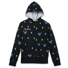 Disney Stitch Zip-Up Hoodie for Adults – Personali