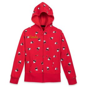 Disney Minnie Mouse Zip-Up Hoodie for Adults – Per
