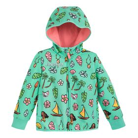 Disney Moana Zip-Up Hoodie for Kids – Personalized