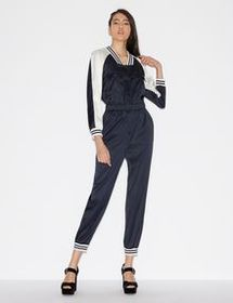 Armani TWO-TONE JUMPSUIT WITH KNIT DETAILS