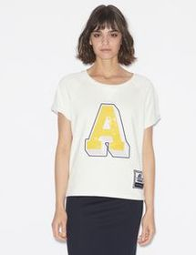 Armani SHORT-SLEEVED CREW-NECK SWEATSHIRT