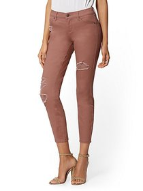 Mid-Rise Super-Skinny Ankle Jeans - New York & Com