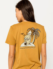 IMPERIAL MOTION Pineapple Womens Pocket Tee_