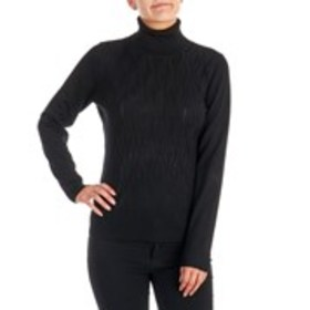 ESTRNA JANE Textured Turtle Neck Sweater