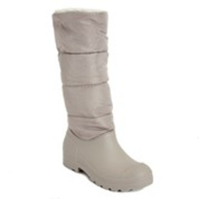 Womens Nylon Fleece Lined Duck Boots