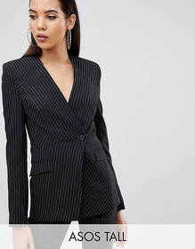 ASOS DESIGN Tall suit blazer with sharp shoulders