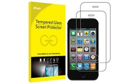 SuprJETech Tempered Glass Screen Protector for iPh