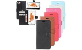 Magnetic Leather Flip Wallet Stand Case Cover for