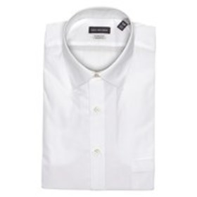 Mens Classic Fit White Dress Shirt