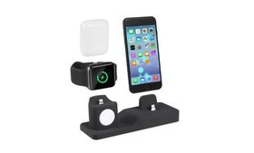 3 in 1 Charging Dock Charger Stand for iPhone iWat