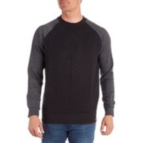MBX Mens Quilted Fleece Sweatshirt