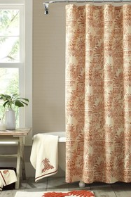 Tommy Bahama Batik Pineapple Shower Curtain - Cora