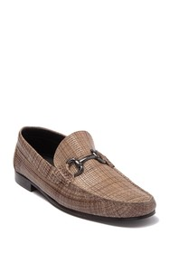 Bugatchi Lucca Moccasin Leather Loafer