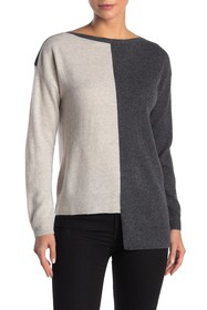 Knyt & Lynk Cashmere Colorblock Sweater