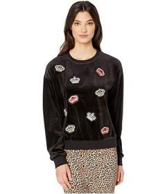Juicy Couture Royal Juicy Velour Pullover