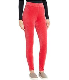 Juicy Couture Stretch Velour Zip Leggings
