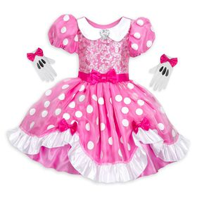 Disney Minnie Mouse Costume for Kids – Pink