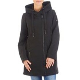 Embossed Hooded Asymmetrical Stretch Jacket