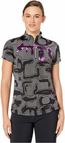 Jamie Sadock Shadow Print Short Sleeve Top