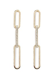 Forever21 Anchor Chain Drop Earrings
