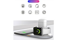Qi Wireless Charger Charging Station Pad For IPhon