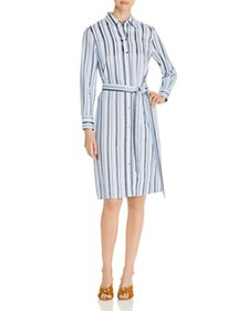 Tory Burch - Striped Shirt Dress