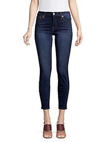 7 For All Mankind Dark Wash Ankle Super Skinny Jea