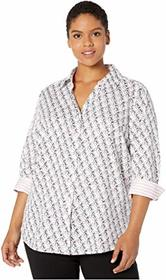 Foxcroft Plus Size Mary in Toucan Print