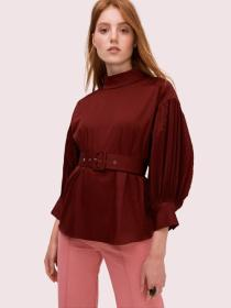 micro pleat top