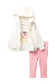 Juicy Couture Faux Fur Hoodie