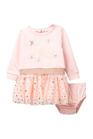 Juicy Couture Star Dress & Bloomer Set (Baby Girls
