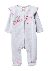 Juicy Couture Footed Coverall (Baby Girls)