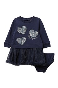 Juicy Couture Heart Dress & Bloomer Set (Baby Girl