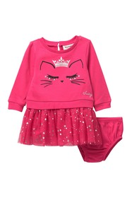 Juicy Couture Queen Cat Long Sleeve Dress & Bloome