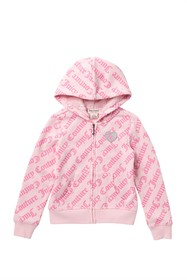 Juicy Couture Faux Fur Fleece Lined Hoodie (Toddle