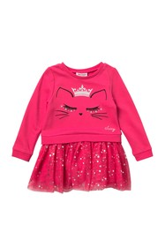 Juicy Couture Kitten Tulle Dress (Toddler Girls)