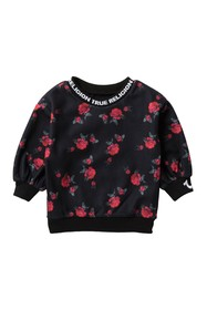 True Religion Floral Microfleece Pullover (Little