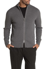 Theory Amadeo Breach Zip Front Cardigan