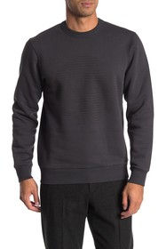 Theory Lunar Crew Neck Fleece Sweatshirt