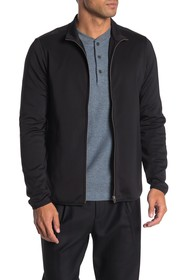 Theory Rolenn Oascent Ponte Knit Zip Jacket