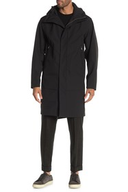 Theory Montrose Hooded Zip Long Jacket