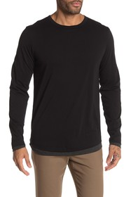 Theory Double Layer Long Sleeve T-Shirt