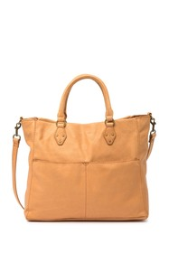 AMERICAN LEATHER CO. Kelly Convertible Leather Tot