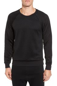 Alo Yama Relaxed Slim Fit Quilted Sweatshirt