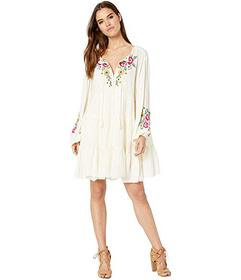 Free People Spell on You Embellished Mini Dress